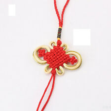 Chinese Knot Feng Shui Fortune Good Luck Bag Handbag Purse Ornament Decor RED