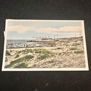 Vintage Varberg Getteron Restaurant Kattegatt Sweden Post Card