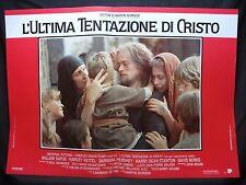 FOTOBUSTA CINEMA - L'ULTIMA TENTAZIONE DI CRISTO - W. DAFOE - 1988 -RELIGIOSO-02