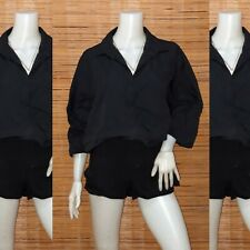 Plus Size Black Dolman Tunic 1X-2X