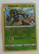 Pokemon League Promo Rillaboom Card Reverse Rev Foil NM/M
