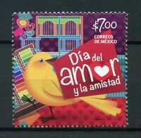 Mexico 2017 MNH Day of Love & Friendship 1v Set Birds Stamps