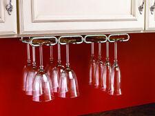 """11"""" Quad Wine Glass Rack Hanger Holder Stemware Chrome (Rev-A-Shelf)"""
