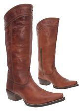 ARIAT Cowboy Boot 11 B Womens Tall KNEE HIGH Leather Western Rodeo Boots Biker
