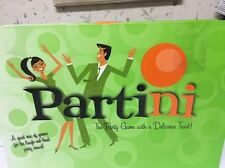 PARTINI Game 2008 The Party Game with a Delicious Twist! 6 LAUGH Games Adult