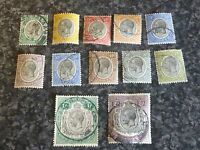 MANDATED TERRITORY OF TANGANYIKA POSTAGE REVENUE STAMPS SG93-103 & 98A FINE USED