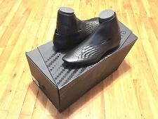 LACOSTE X ZAHA HADID CLM BLACK LEATHER ANKLE BOOT RARE LIMITED 7-18CLM2769024 SI