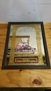 Vintage 1980's Lionel Pub Mirror. Framed. 19x24 inches.