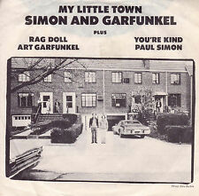 SIMON AND GARFUNKEL My Little Town 45