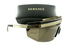 Versace Sunglasses VE2208 Gold Brown 1002/3G New Authentic