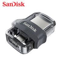 SANDISK ULTRA DUAL DRIVE micro3.0/USB 3.0 128GB Unidad USB Stick con Seguimento