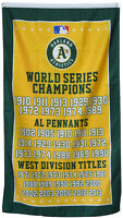 Oakland Athletics World Series Championship Flag 3x5 ft MLB Banner A's US Seller