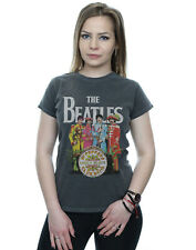 The Beatles Women's Sgt Pepper Washed T-Shirt