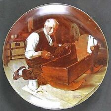 NEW Norman Rockwell's Complete Set 8 Plates - Rockwell's Golden Moments w/COA