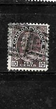 CANADA CANADIAN SC#116 1912 OLD VINTAGE USED CLASSIC 10c DEFINITIVE STAMP