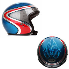 CASCO CUSTOM 500 SE ARITRIX HERITAGE BY BELL (BLUE/RED) SIZE EU (X-SMALL)