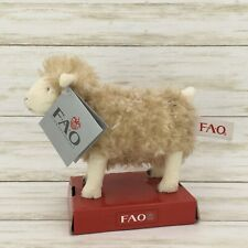 2011 FAO SCHWARZ #68646 Limited Plush Ivory Sheep Toy