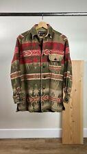 BANANA REPUBLIC Cabinwear Size XS Wool Blend Southwestern Print Jacket