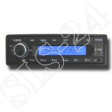 VDO TR722U-BU 24V 24 Volt RDS-Tuner MP3 WMA USB AUX Truck Bus LKW Radio LCD blau