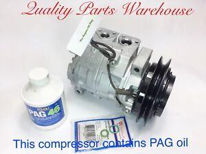 2005-2010 Hino 238 258 268 338 7.7L USA Reman A/C Compressor W/ 1 Year Warranty