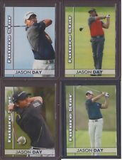 4-pack) 2010 JASON DAY former world #1 1/100 PGA Tour Future Star Rookie Card RC