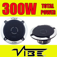 VIBE 300W TOTAL 4 INCH 10cm 2-WAY SLICK CAR/VAN DOOR/SHELF COAXIAL SPEAKERS NEW