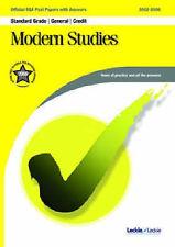 Modern Studies General / Credit SQA Past Papers by Leckie & Leckie (Paperback, …