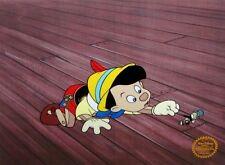 Pinocchio & Jiminey Cricket, Limited Edition Sericel, Disney