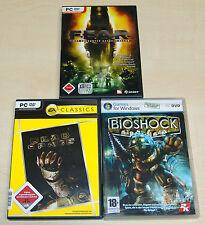 3 PC Games Collection-Bioshock-Dead Space-F.E. A.R. Fear