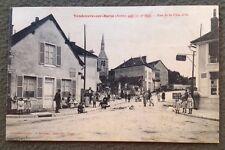 CPA. VENDEUVRE sur BARSE. 10 - Rue de la Côte d'Or. 1915.