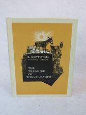 Scott O'Dell THE TREASURE OF TOPO-EL-BAMPO  Houghton Mifflin Co.  1972