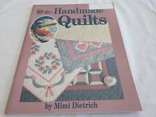 HANDMADE QUILTS BY MIMI DIETRICH QUILT BOOK 1990