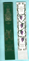 Hampton Court London Gift Souvenir Leather Bookmark Great Vine 1768 Royal Palace