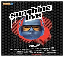 Sunshine live 56-Lost frequencies/Anna naklab/perturbé mais Geil/+ 3 CD NEUF