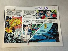 STAR HAWKS original art color guide 1979, GIL KANE, one of a kind, SPACESHIPS