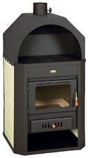Wood Burning Stove 17+6 = 23 kW Back Boiler Log Burner Woodburning Prity W17 NEW