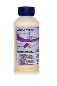 500ml Glycolic acid 70% / hydroxyacetic acid