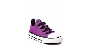 CONVERSE INFANT CT AS S LACE SLIP AMARANTH PURPLE GLITTER  735478F