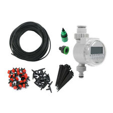 Automatic Micro Drip Irrigation System Watering Hose Garden Plant Self Diy Us