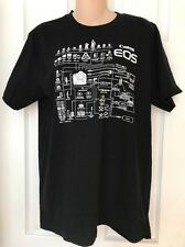 Limited Edition American Apparel Canon EOS Line Up Graphic Black T-Shirt Size M