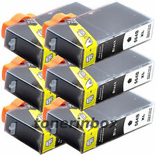 6 Pack 564XL Black Ink For HP Deskjet 3070a 3520 3521 3522 3526