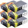 6 Pack 564XL Black Ink For HP Deskjet 3070a 3520 3521 3522 3526