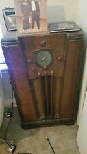 New ListingRare Vintage 1935 Philco Model 116 High Fidelity Floor Radio Needs restoration.