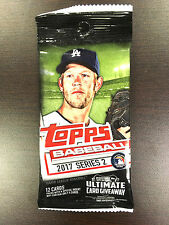 TOPPS BASEBALL 2017 SERIES TWO (1 SEALED PACK)!!