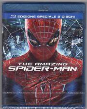 Blu-ray THE AMAZING SPIDER MAN Edizione speciale 2 DISCHI Andrew GARFIELD