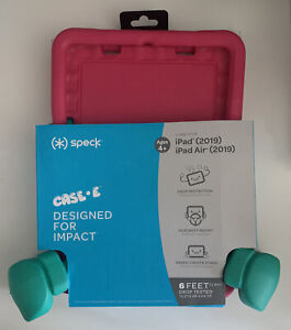 """Speck Kids Case-E for iPad 10.2"""" - Red/Green"""