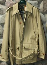 Barbour Cromarty Trench Jacket Coat Stone MWB0418ST51 New XX-Large XXL UK Sizing