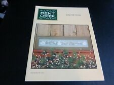 """winter Row"" M Worley & E Newlin Bent Creek #bc-1080 Sampler Snowmen 2000"