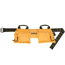Dewalt 12 Pocket Carpenter's Suede Tool Belt Apron DG5372