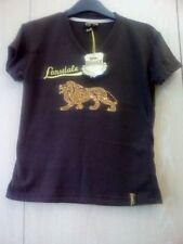Waist Length Polyester V Neck Petite T-Shirts for Women